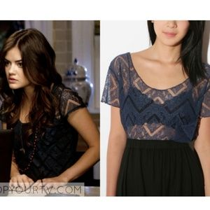 {Urban Outfitters} Kimchi Blue lace top